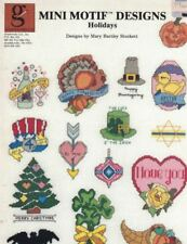 Graphworks Mini Motif Designs HOLIDAYS All Occasions for Counted Cross Stitch