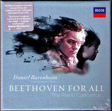 Daniel BARENBOIM: BEETHOVEN 3CD Piano Concerto No.1 2 3 4 5 Klavierkonzerte GA