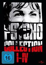 Hitchcock PSYCHO 1 2 3 4 Collezione ANTHONY PERKINS 4 Box DVD Edizione Completa