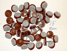 "48 FELT BOTTOM  1 1/8""  NAIL-ON CHAIR GLIDES,  PROTECT TILE & HARDWOOD FLOORS"