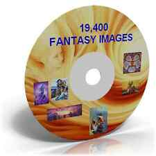 19,400 Fantasy Images on DVD, Cardmaking, Crafts CD