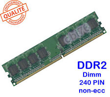 Barrette mémoire 1GO DDR2 PC2-4300 CL4 240PIN 533MHZ APACER 1GB memory