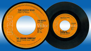 Philippines THE GUESS WHO No Sugar Tonight 45 rpm Record