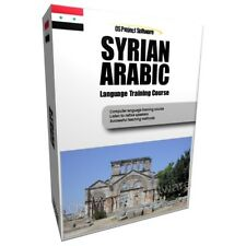 PM LEARN TO SPEAK SYRIAN ARABIC LANGUAGE TRAINING COURSE PC DVD NEW
