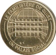 02 GUISE LE FAMILISTÈRE MÉDAILLE MONNAIE DE PARIS 2015 JETON MEDALS COINS TOKEN