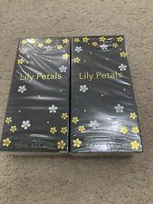 2 x 100ml New Lily Petals Womens Designers Perfume Gift Set EDP Eau De Parfum