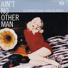 CD CARTONNE CARDSLEEVE CHRISTINA AGUILERA 2T AIN'T NO OTHER MAN NEUF SCELLE