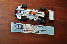 Carrera 124, Brabham, Carlos Pace, Decal Set