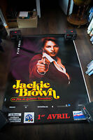 JACKIE BROWN Style A 4x6 ft Bus Shelter Vintage Movie Poster Original 1998