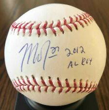 Mike Trout Autographed ROOKIE BASEBALL with CoA !!