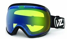 Vonzipper FISHBOWL Snowboard Ski Goggles Black Gloss Yellow NEW