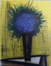 BUFFET Bernard :  Le Bouquet Bleu - LITHOGRAPHIE signée et référencée #MOURLOT