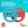 Steering Wheel Accessories Kit 2 Pack For Nintendo Switch Joy-Con UK STOCK
