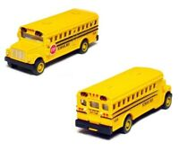 2.5 Inch Mini Yellow School Bus Diecast Model CAR with pull back action KT2523D
