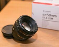 Obiettivo CANON lens EF 50mm f/1.4 USM usato