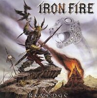 Revenge by Iron Fire (CD) W or W/O CASE EXPEDITED WITH CASE