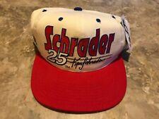 NEW Vintage 90s Ken Schrader #25 NASCAR Racing Budweiser Adjustable SnapBack Hat
