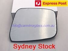 RIGHT DRIVER SIDE MIRROR GLASS FOR NISSAN NAVARA D40 2005-2015 (SPAIN, W BLINER)