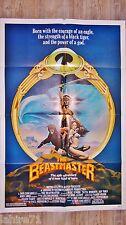 DAR L'INVINCIBLE the beastmaster   ! affiche cinema eroic fantasy