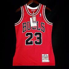 100% Authentic Michael Jordan Mitchell Ness 97 98 Bulls NBA Jersey Size 36 S