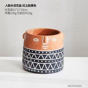 Ceramic Flower Pot Nordic Style Art Vases Sculpture Home Plant Pot Vase Decor