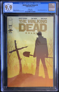 Image Comics Walking Dead Deluxe #6 Tony Moore Cover CGC 9.9 MINT