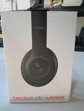 BEATS Studio wireless Over the Ear Headphones - Model B0501 WL MATTE BLACK