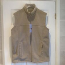 "*BNWT* M&S MAN STONE FLEECE GILET SIZE SMALL 36-38"" CHEST BODYWARMER"