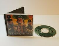 Age of Empires II: The Conquerors Expansion PC CD-Rom 2000 windows game