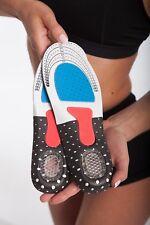 LOREY - Hochwertige Gel Einlegesohlen, Schuheinlagen, Fußbett, Schuh-Einlagen