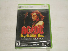 Rockband AC/DC Live Trackpack  For Xbox360 Brand New & Factory Sealed