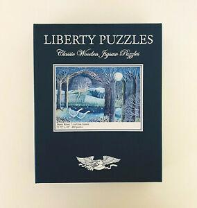 Liberty Puzzles Wooden Jigsaw Starry River Lisa Graa Jensen 480 Piece 11.75 x 18