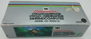 Tacho Cateye Vectra Cyclo-Computer Model CC-7000-N Fahrradcomputer Vintage