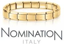 Nomination Bracelet 18 Links Yellow Gold Only £34.99