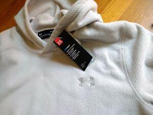 NWT, $65. Under Armour Men's Off Grid Fleece Hoodie Pullover Sweatshirt #1343265