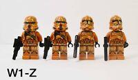 Authentic Lego Star Wars Geonosis Clone Trooper Minifigures Battle Pack 75089