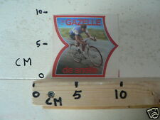 STICKER,DECAL GAZELLE DE SNELLE RACEFIETS,CYCLING