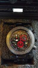 RARE Invicta Reserve Subaqua Noma l Swiss Diamond Bezel Ruby Dial Watch 24321