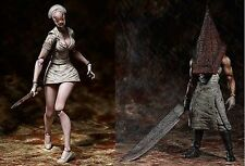 "Figma Silent Hill 2 ""Red Pyramid Thing + Bubble Head Nurse"" SET from Japan"