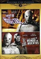 Santo Museo Cera & Santo Blue Demon Mundo Muertos [New DVD] Full Frame, Sensor
