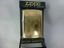 ZIPPO REG GOLD PLATED SHIMMER MODEL #33 1991 ISSUE RARE COLLECTIBLE