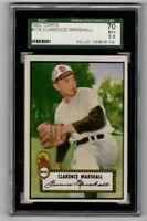 1952 Topps Baseball #174 Clarence Marshall - SGC 5.5 EX+