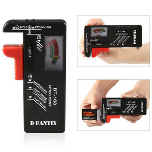 Mercury Battery Tester Battery Checker for AA AAA Small Batteries Button Cell
