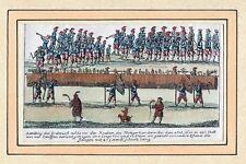 Umzug des Metzgerhandwerks zu Nürnber 1658-Kolorierter Kupferstich um 1860