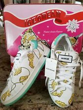 womans icecream sneakers size 8  with box brand new 800.00