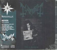 Mayhem - Live In Jessheim CD + DVD - SEALED - 2019 Import Black Metal Album