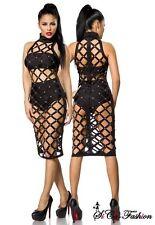 Für Clubwear-Damenkleider als Neckholder aus Baumwolle