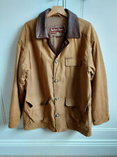 Marlboro Classics mens tan coloured jacket - lined - size Large