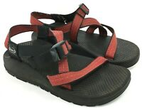 CHACO Women's Z/1 Size 6 Classic Red Criss Cross Strap Sport Sandals