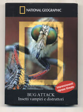 Dvd National Geographic Collection BUG ATTACK Insetti vampiri e distruttori